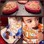 Heart-Shaped Mocha Chip Pancakes