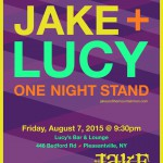 Jake and the Mountain Men – Live Aug 7, Lucy's Bar & Lounge