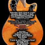 """Live Show w/ Ricky Blues Band 4/22/2017 – """"You're A Miracle: A Tribute To Rochelle Gambino"""""""
