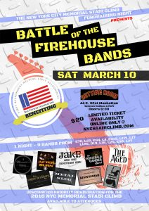 Battle of the Firehouse Bands Poster